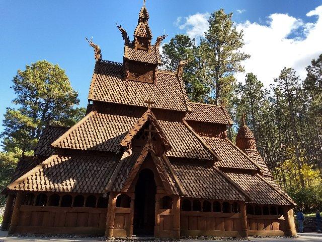 post norwegian church